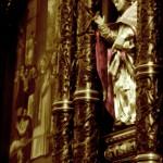 Fragment stalli w kościele Bożego Ciała